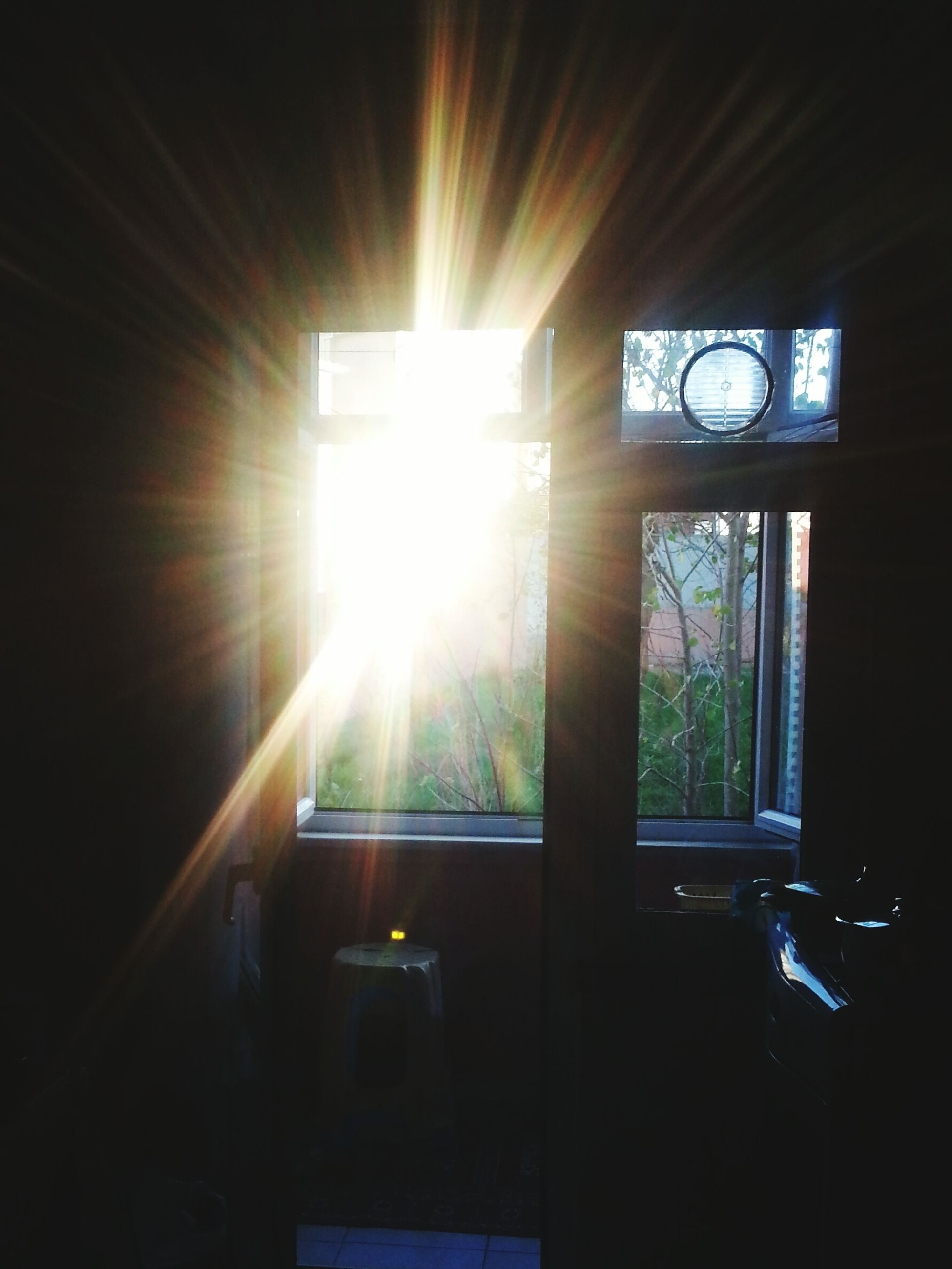 sunbeam, sunlight, lens flare, indoors, sun, window, no people, day, streaming, architecture