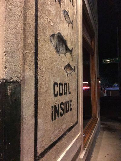 Cool inside -