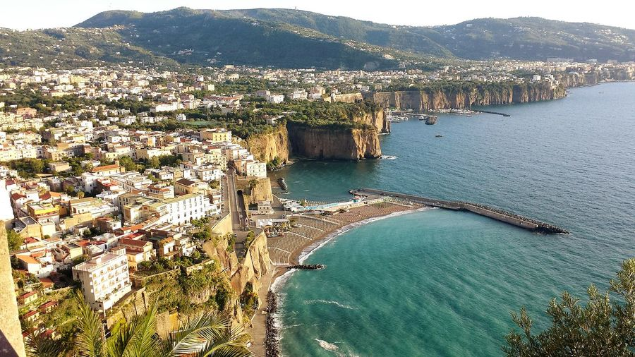 Colors Panoramic Photography Water_collection Italia Nature_collection Relaxing Water Panorama Meta Di Sorrento Costierasorrentina Napoli Mare E Sole Spiagge Playa