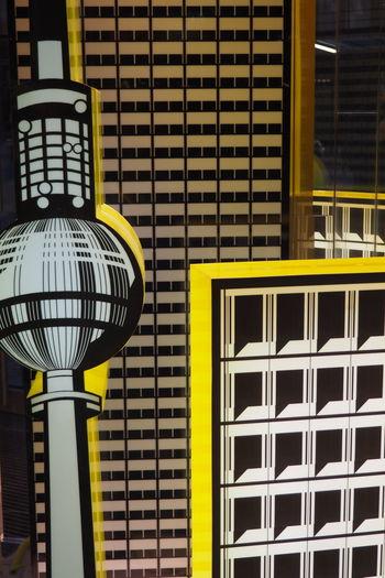 Berlin Building Cartoon Cartoon Style Cartoonized City Cityscape Decor Drawn Fernsehturm Stage