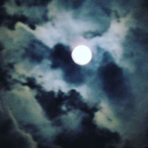 Lunar shot ...covered with clouds... struggling for existence... Awaiting for full moon after two days.. Moonlover Cloudporn Struggling Gratefuldead