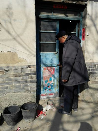 Grandpa's House Grandpa China Village Life Country Life Shandong Province Old House Traditional Old Man Aged