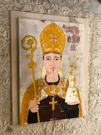 Sacred EyeEm Selects Sacred Religion Southitaly Tradition Wall Saint Castellabate Italy Paint Building Exterior Love God