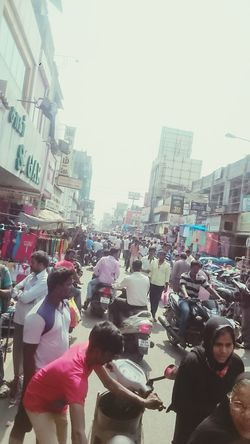 Pondicherry Sunday Market Crowded Street Cheap Food No Rules