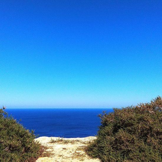 Cliff Blue Blue