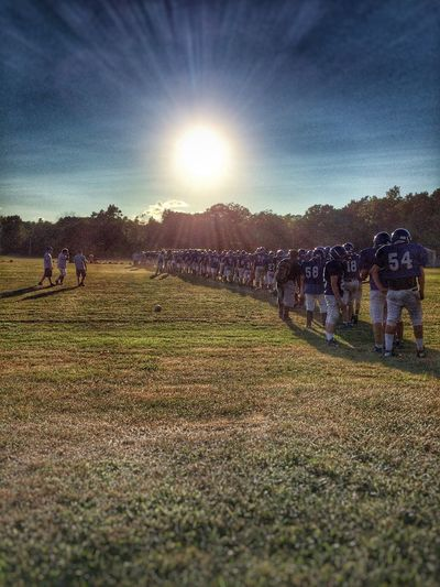 ✨🌞🏈Blindsided🏈🌞✨ Getting Inspired Tadaa Community Football Sunset Sports Photography