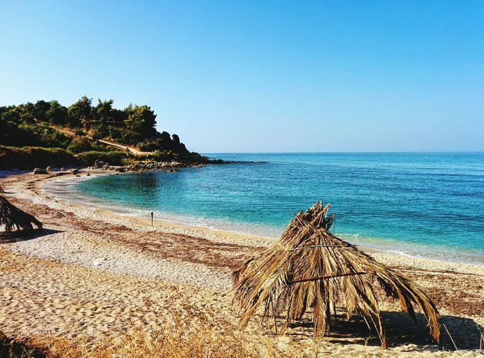 Sea Greece Summer Vacation Greece Ligia Vrachos Preveza Sunumbrella Beauty Nature
