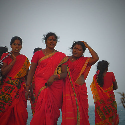 Colors Cultures Discover India People Watching Pondicherry Tamilnadu Travelling Typical