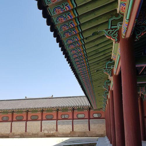 Palace Architecture Gyeongbokgung Palace, Seoul Joseon Dynasty 5 Centuries Korean Royalty Korean Culture Korean History Seoularchitecture Tripwithson2017 Trip To Seoul Seoulspring2017 Seoulmay2017 Southkorea Seoul