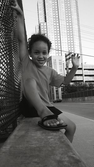 Summer2015 Kid Natural Hair Curly Hair Happy Kid Smile :) Street Photography Kids Photography