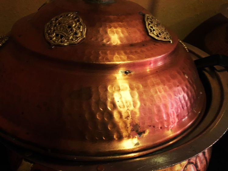 Out to dinner the other night Light And Shadow Out And About No People Art Photography Craftsmanship Abstract Intricate Details Warm Colors Texture Pattern Hammered Metal Indian Restaurant