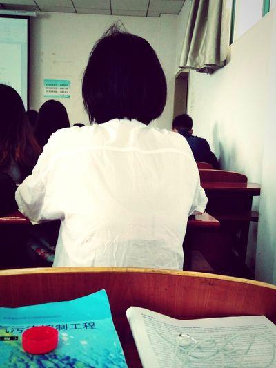 girl in class Beautiful Woman Backstyle