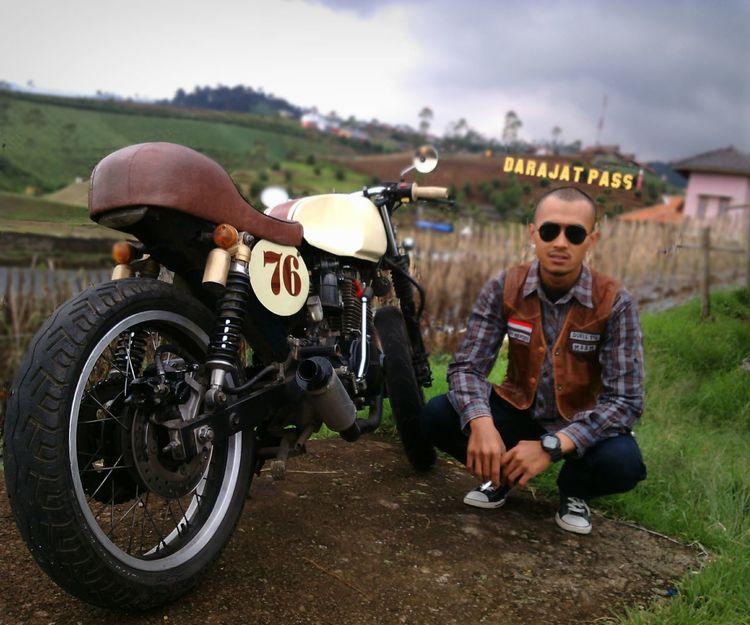CMS Caferacer Motorcycle Motorbike Motorcycles INDONESIA Garut Garutwestjava GarutEndah Darajat 😁