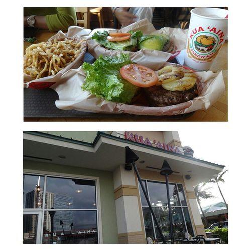簡稱歐巴馬漢堡,人生最好吃的漢堡,肉又厚又juicy,看著照片流口水中Burger Fastfood Obamaburger Kuaania Bestever