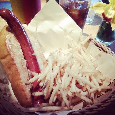 hotdog Cafe Lunch