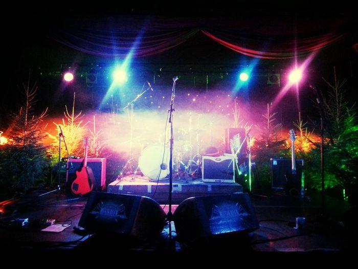 Lucia stage tonight! Stage Kajskjulet