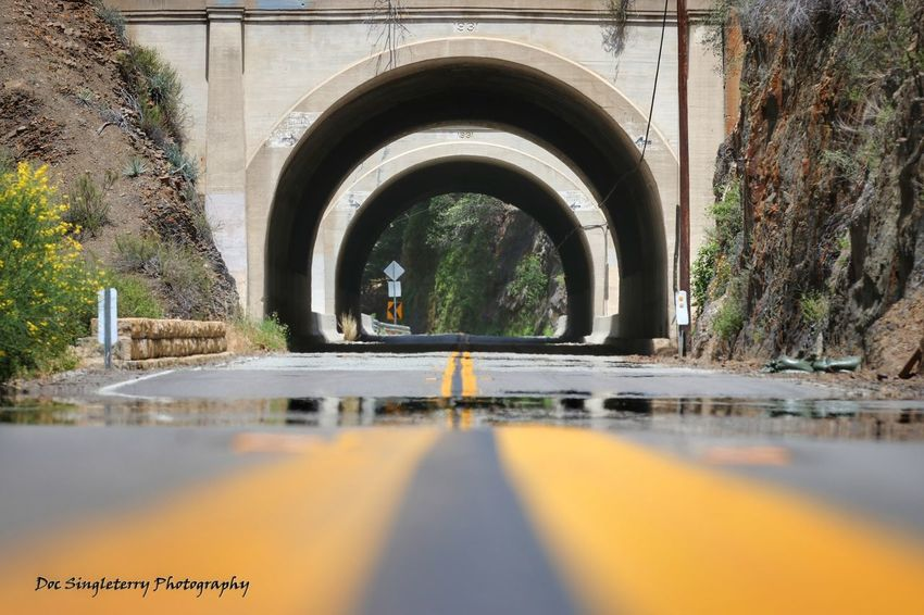 Double Tunnel Vision Point Of View Tunnels Tunnel Vision Perspectives Close-up Ground Level View Street Highways&Freeways Outdoors Architecture No People Copy Space Road Trip The Great Outdoors - 2017 EyeEm Awards The Street Photographer - 2017 EyeEm Awards Roadtrippin Scenics