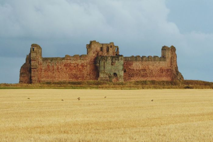 Tantallon Castle Old Ruin