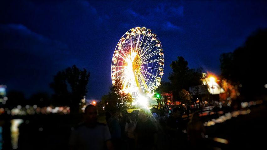 """Fire Wheel"" Aguascalientes Mexico Feriadesanmarcos Fnsm2016 Islasanmarcos Nocturno Feria"