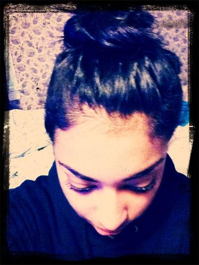 Baby Hairs And Messy Buns