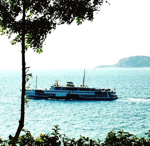 Boat Sea Prinkipo Büyükada Princeislands Prince Islands şehirhatlarıvapuru Sehirhatlari