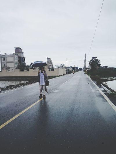 Winter Yilan Raining Day Taiwan