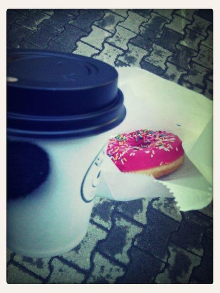 мммм... какао было очень вкусным Happy Donut Panda_coffee Coldautumn