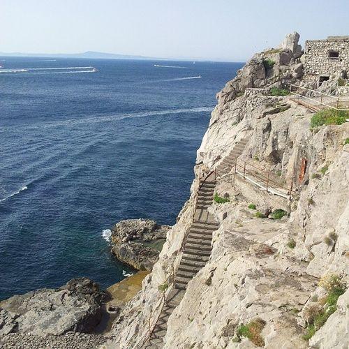 Baiadellesirene Costierasorrentina Massalubrense Estate2014 sea mare rocks nofilter