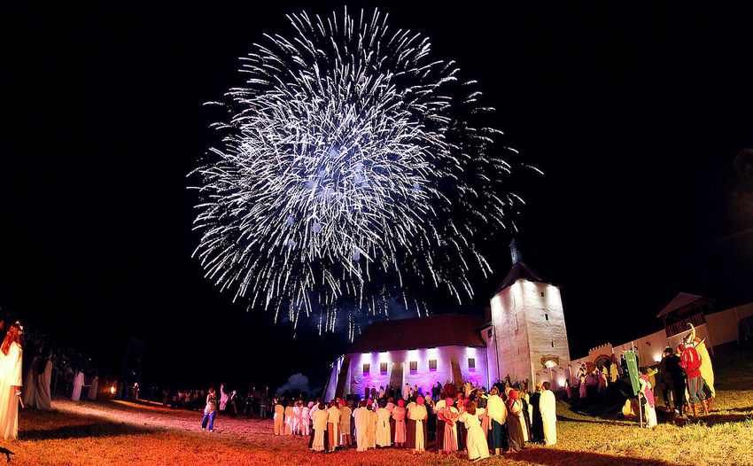 Picokijada is a traditional cultural-tourist manifestation that has been held since 1968 at the end of June in the Podravina town of Đurđevac in Croatia Arts Culture And Entertainment Castle Durdevac Event Firework Display Firework Over The Castle Fireworks In The Sky Folklore Night Picokijada Traditional Cultural The Traveler - 2018 EyeEm Awards The Great Outdoors - 2018 EyeEm Awards