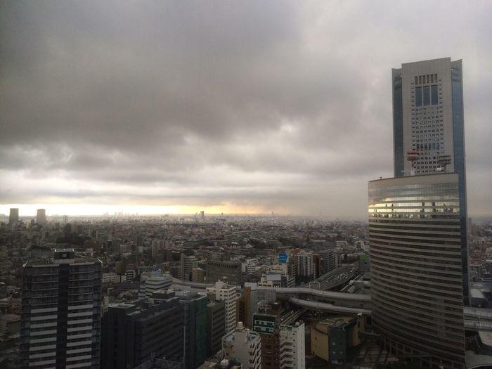 Sky Clouds And Sky Shinjyuku Sky ゲリラ豪雨が来る‼︎町田、横浜方面があきらかにマズイ。