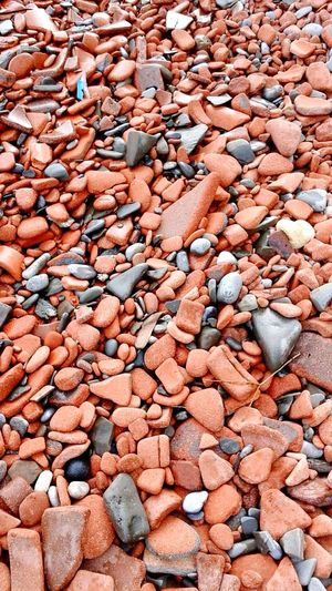 How Do We Build The World? From sticks and stones. Fill The Frame ColorVibe Fresh Vibrant Orange Color Vivid Stones Nobody Simple Shapes Texture