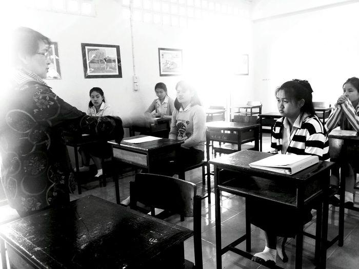 Class room in Mae hong son Taking Photos Hello World Everydaythailand