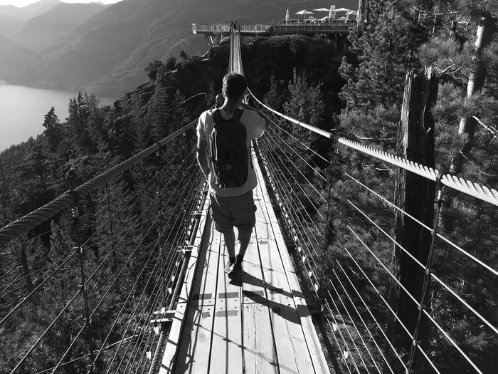 Lost In The Landscape Rope Bridge Adventure Squamish Canada Trail Seatosummit Seatoskygondola Lovecanada Real People