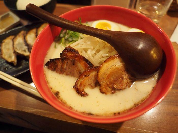 Kyoto Japan Kawaramachi Noodle Ramen Sen-no-kaze Salt Delicious Olympus PEN-F 京都 日本 河原町 ラーメン 千の風 京の塩 美味