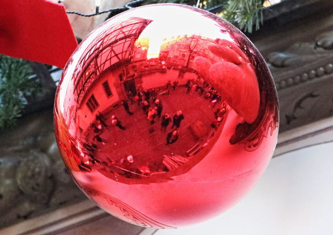 Celebration Christmas Christmas Decoration Close-up France Holiday Outdoors Red Strasbourg Traveling Home For The Holidays
