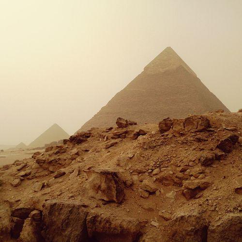 Большие пирамиды в Гизе. египет архитектура Egypt Architecture