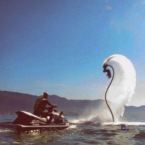 Desde outro angulo Eusouflyboardsp Maremar Praiadopereque @flyboardsp @andre_moli12 Natureza @igersilhabela ilhabela