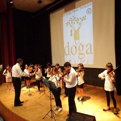 Ve unutulmaz bir konser daha böylece bitti. Keman Festivali Violin Acarkent Doğa Koleji DoğaKoleji Gfarukunal BeykozDoğa