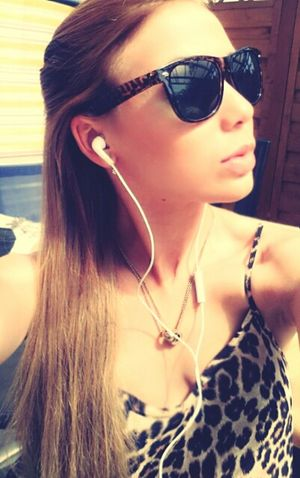 Good Morning I LOVE MUSIC *_* Leo♥ Sunglasses