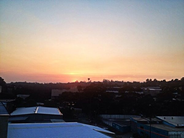 smokey sunrise Watching The Sunrise