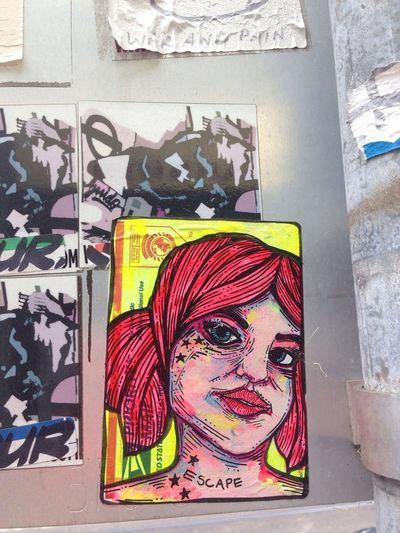Streetart Stickers