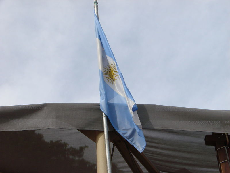 Argentina Argentina Photography Argentina 👑🎉🎊👌😚😍 Bandera Cloud Cloud - Sky Day Flag High Section Low Angle View Nature No People Outdoors Part Of Pole Renewable Energy Sky Tall - High