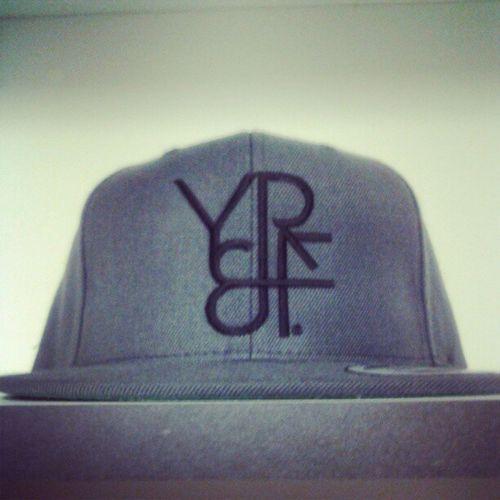 YR&F™ GREY SNAPBACK ON SALE NOW! $25 Youngrichandflashy