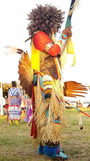 Traditional Dancing Pow Wow Pow Wow Dancer Pine Ridge Reservation Tradition Traditional Traditional Clothing Traditional Culture Traditional Festival Native American Native American Pride Native American People First People Beautiful People Tree Headwear Scarecrow Sky Grass Traditional Dancing