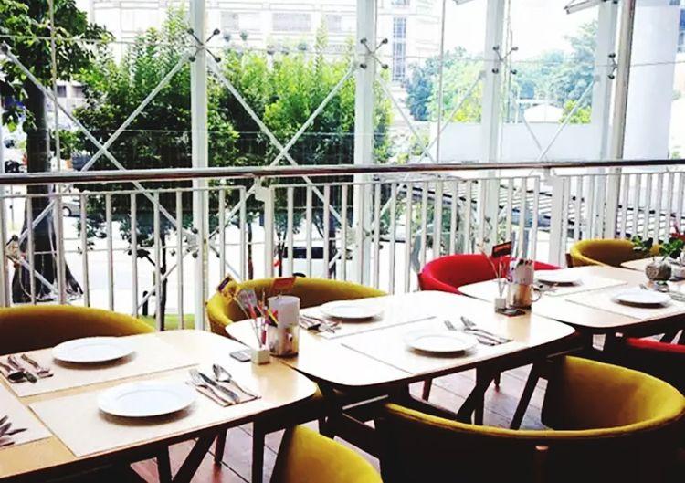 Tujo Restaurant Kualalumpur Level 2 Architecture Seats Setting Malaysia Place Setting Table Chair Indoors  POTD Followforfollow