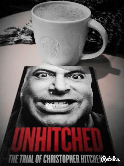 Coffee And Cigarettes Drinking A Latte There's No God Only Hitchens