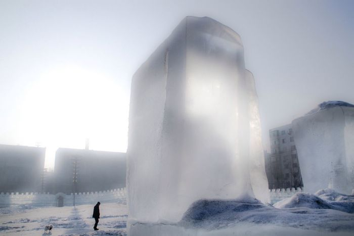 The Calmness Within China Icefestivals cold Harbin