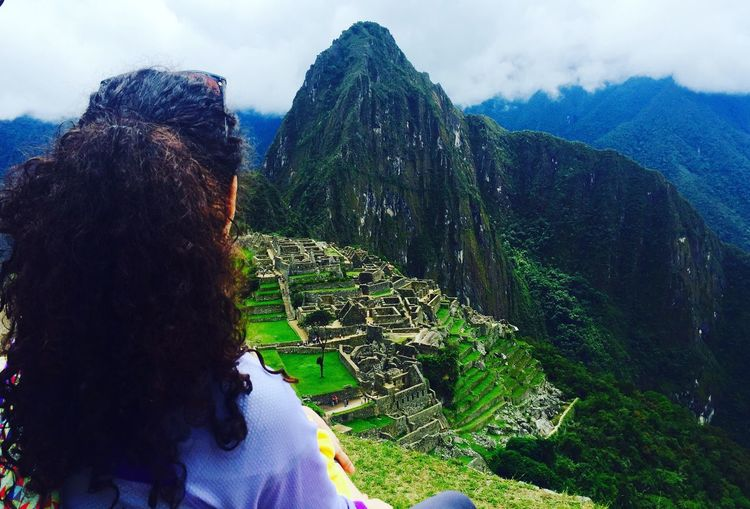 Mountain Women One Person Nature Lifestyles Scenics Outdoors Ancient Civilization Beauty In Nature Travel Destinations Travelling Traveller Peru Machu Picchu Incredible Happiness