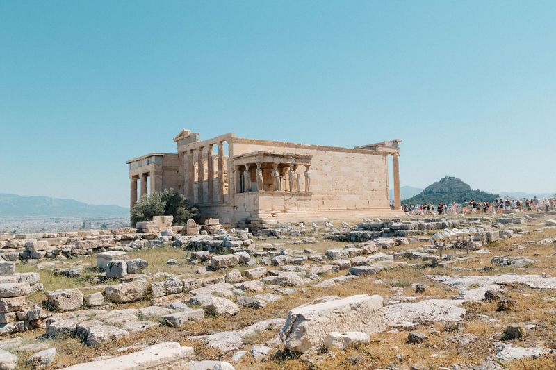 EyeEm Selects Athens, Greece Old Ruin History Outdoors Ancient Ancient Civilization Landscape Shootermag_portugal Canon6d EyeEm Best Shots Travel Photography Eye4photography  Summer Travel Destinations The Week On Eyem EyeEm Portugaloteuolhar Shootermag_uk Canonphotography Summer Memories 🌄 Architecture Sunny Clear Sky Scenics