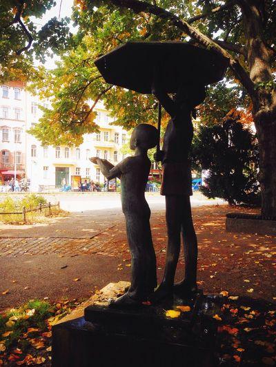 Autumn Umbrella Street Photography I ❤ BERLIN